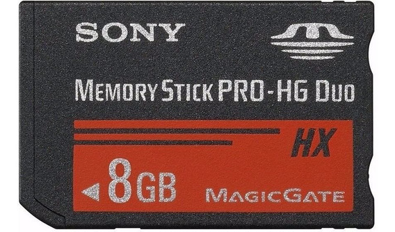 Memory Stick Pro Duo 8gb Mark2 Sony Alta Velocidad