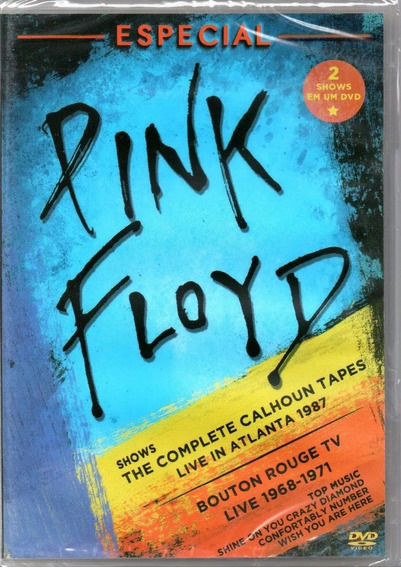 Dvd Pink Floyd - Especial Shows Atlanta 87 E Bouton Rouge 68