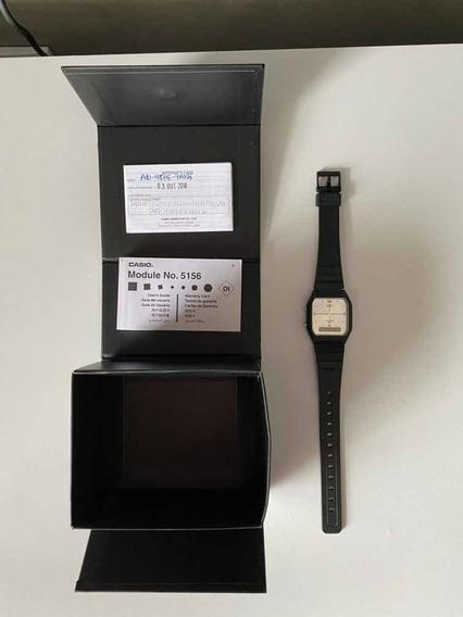 Relógio Casio Unissex Vintage Preto