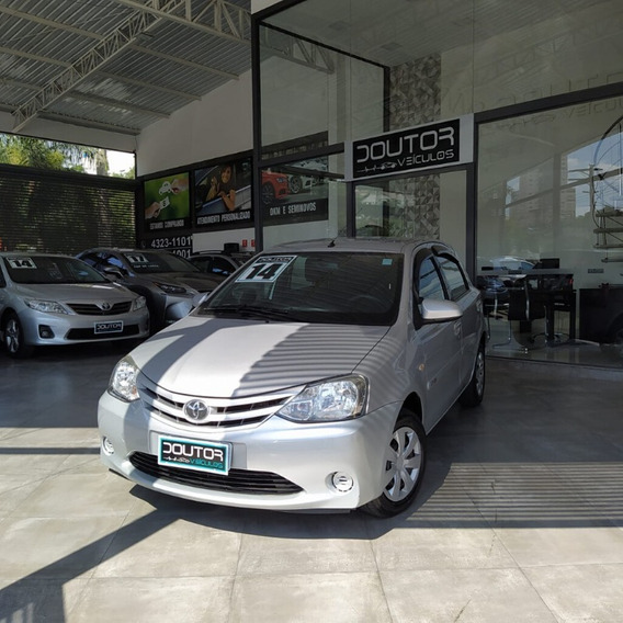 Toyota Etios 1.5 Xs 16v Flex Manual 2014/ Etios 14