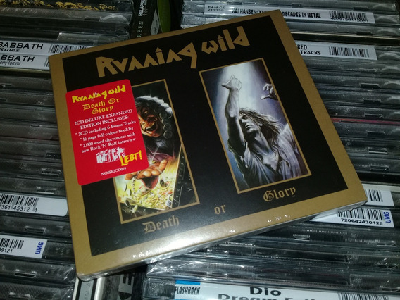 Running Wild Death Of Glory Deluxe Expanded Edition