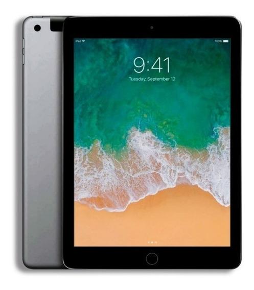 Apple iPad 6ª Geração (2018) 9,7 Cinza Espacial 32gb Wi-fi + 4g + Nf-e