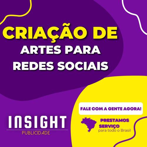 Imagem 1 de 5 de Criação De Artes Para Redes Sociais