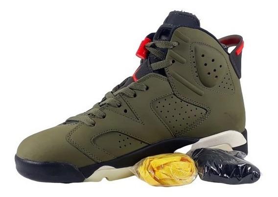 Tenis Nike Air Jordan 6 Travis Scoot Comprado E Nunca Usado