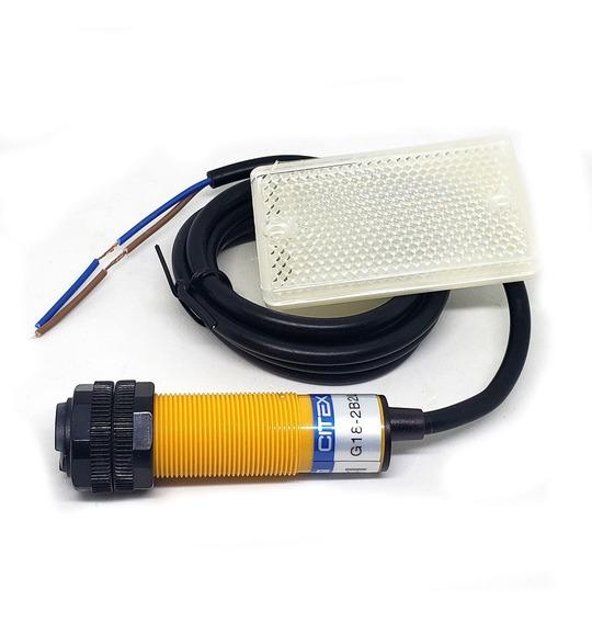 G18-2b2la 90~250v Sensor Fotoelétrico Com Espelho Sn: 2m