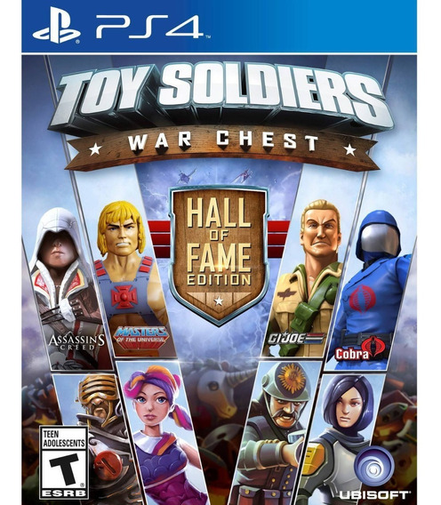 Toy Soldiers War Chest Hall Of Fame Edition Ps4 Nuevo Fisico
