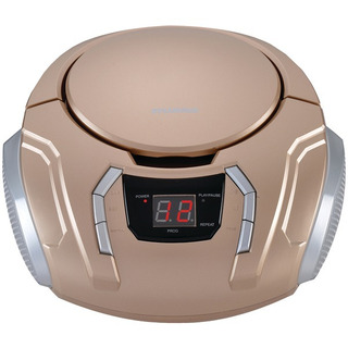 Radio Portable Am / Fm Cd Champaña Sylvania