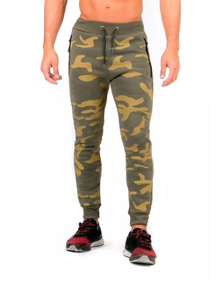 Pantalón Jogger Pants Caballero Verde.