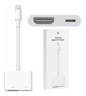 Adaptador Apple Lightning Hdmi Usb iPhone 5/6/7 8 X iPad Ios