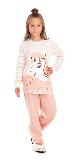 Pijama Infantil Bicho Bagunça Unicórnio