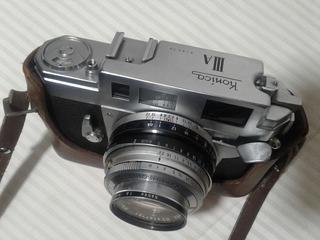 Camara Konica Iiia Telemetrica Rangefinder Hexanon Japon 3a