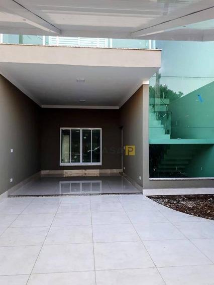 Casa Com 3 Dormitórios À Venda, 160 M² Por R$ 880.000,00 - Jardim Terramérica I - Americana/sp - Ca0231