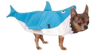 Costume Company Shark Pet Costume, Azul, Pequeño