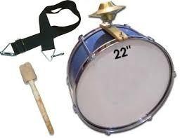 Alquiler Bombo Murga, Redoblante, Instrumentos De Percusion!