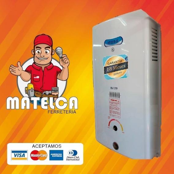 Calefon A Gas Indra 26 Ltr X Navidad Tecnologia Instamatic