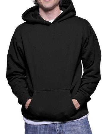 Blusa Frio Moletom Peluciado Plus Size Masc Capuz G1 G2 G3