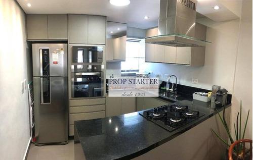 Imagem 1 de 25 de Apartamento Reformado Andar Alto Com 2 Dormitórios À Venda, 56 M² Por R$ 900.000 - Jardim Paulista - Prop Starter Adm Imóveis - Ap0878