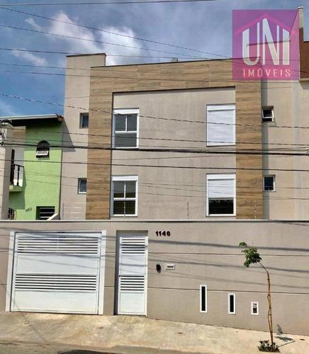 Imagem 1 de 8 de Apartamento Com 2 Dormitórios À Venda, 53 M² Por R$ 255.000,00 - Parque Novo Oratório - Santo André/sp - Ap0951