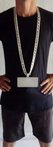 Cordão Prata 925120m De Comprimento 2 Cm De Largura