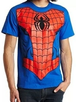Remera Spider Man Hombre Xl/mujer 1/2