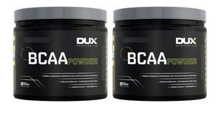 2 X Bcaa Powder 4:1:1 (200g) Dux Nutrition - Sabores