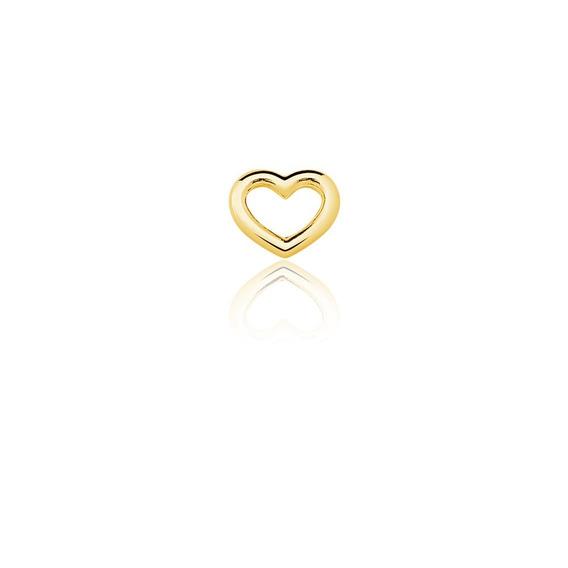 Charm Coração Dourado