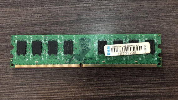 Memória Ram Dhm - Ddr2 2gb/800mhz