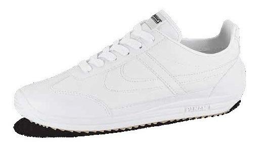 Tenis Para Caballero Panam Casuales Color Blanco