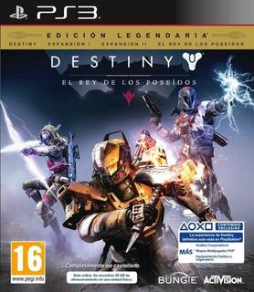 Destiny Legendary Edition Ps3 Original Entrega Inmediata
