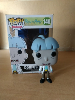 Funko Pop Rick And Morty Doofus Rick 140