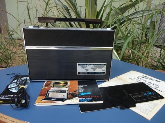 Rádio Zenith Transoceânico.