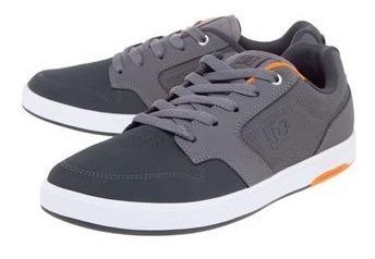 Tênis Dc Shoes Nyjah Cinza 40 Original Novo