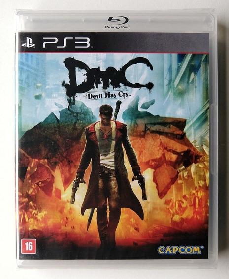 Jogo Devil May Cry Dmc Ps3 - Mídia Física - Novo Lacrado