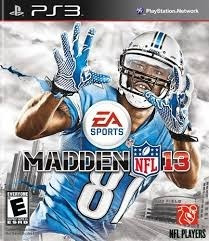 Jogo Madden Nfl 13 Playstation 3 Ps3 Mídia Física Football
