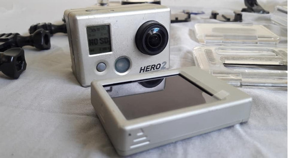Câmera Gopro Hero 2 + Acessórios