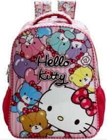 Mochila Infantil Escolar 14 Hello Kitty Tiny Bears