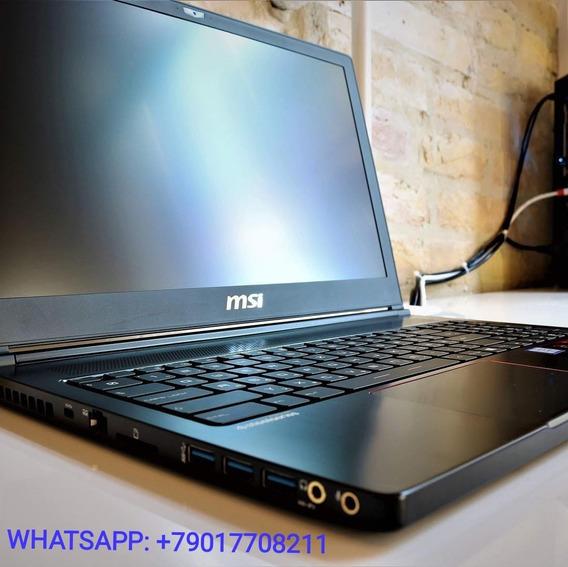 Msi Gs63vr 7rf Stealth Pro, Core I7-7700hq, 16gb Ram, 256gb