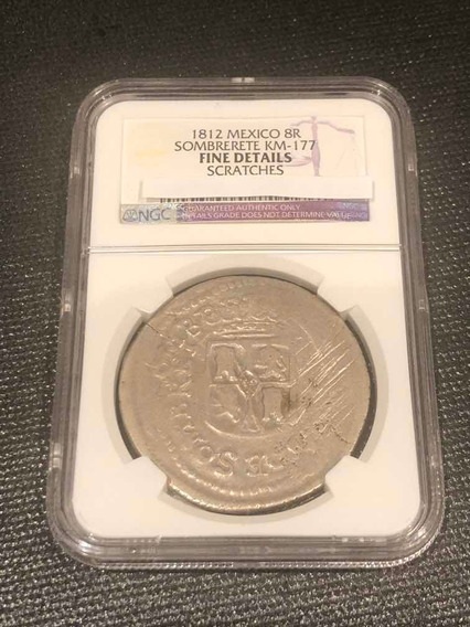 8 Reales 1812 Sombrerete Vargas Ngc