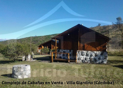 Complejo De Cabañas En Villa Giardino. Córdoba