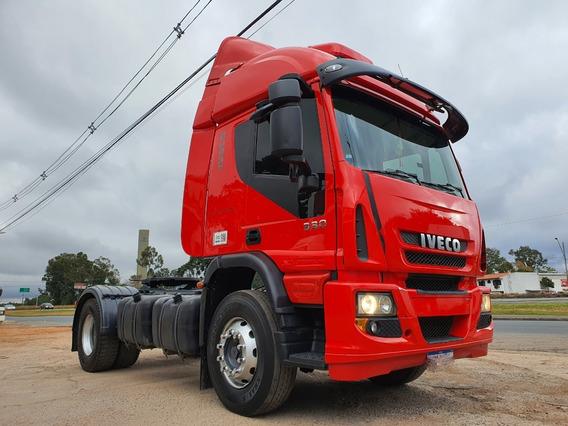Iveco Cursor 330cv 4x2 Teto Alto Ano 2011 Completo