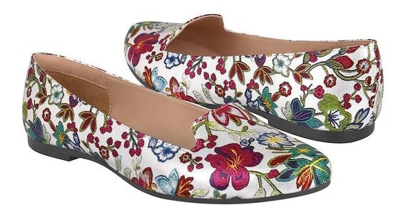 Zapatos De Piso Para Mujer Stylo 152 Plata