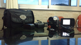 Filmadora Jvc Axm300 + Acessórios