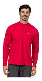 Camisa Gola Alta Masculina Proteção Solar Extreme Uv Ice