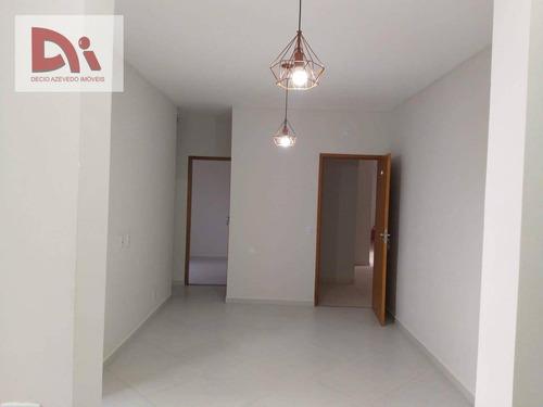 Apartamento Com 2 Dormitórios À Venda, 54 M² Por R$ 220.000,00 - Parque São Luís - Taubaté/sp - Ap0277