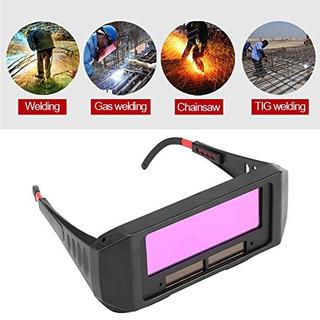 1 Par Solar Oscurecimiento Automático Gafas De Soldadura De