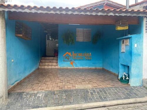 Imagem 1 de 6 de Casa Com 3 Dormitórios À Venda, 59 M² Por R$ 340.000,00 - Jardim Guilhermino - Guarulhos/sp - Ca0514