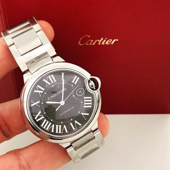 Cartier Ballon Bleu Black 42mm 2019 - Garantia De Fábrica