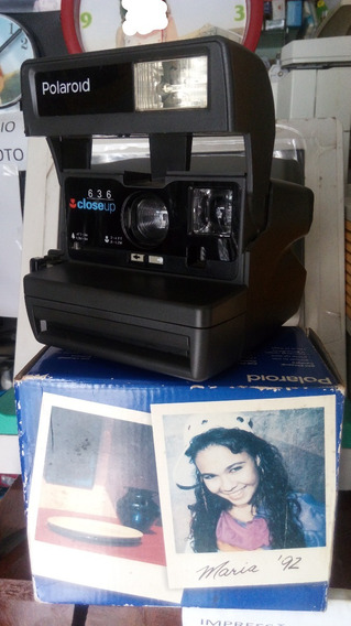 Camera Polaroid Closeup 636 Nova Na Caixa