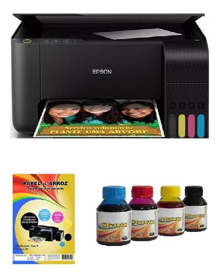 Impressora Multifuncional Tinta Para Papel Arroz Comestível
