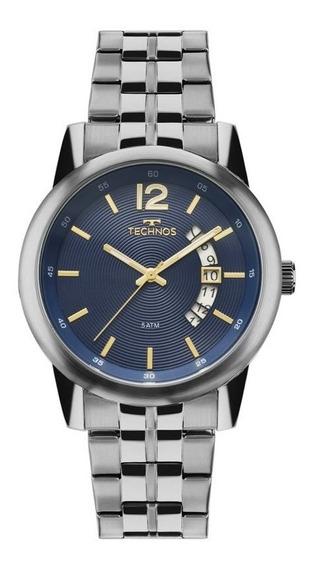 Relógio Technos Steel Masculino 2315kzm/1a
